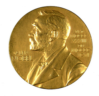 The Nobel Prize for Physiology awarded to Frederick Banting in 1923. From the collection of the Thomas Fisher Rare Book Library, University of Toronto.