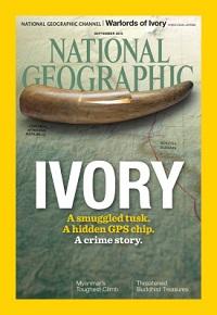 National Geographic magazine, September 2015 issue